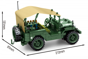 US Off Road Truck in green