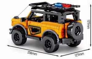 Off-Road Car in orange/black