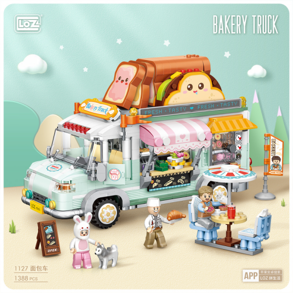 Bakery truck (mini blocks)