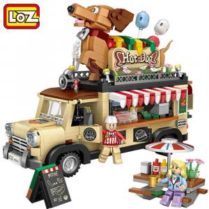 Hot Dog Cart (mini blocks)
