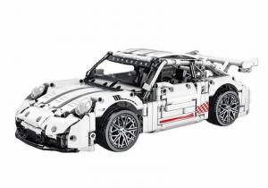 Super car in white