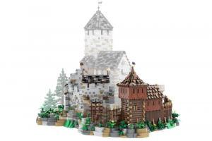 Vorburg Erweiterung für Burg Blaustein