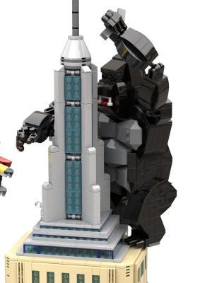 Wolkenkratzer Angriff