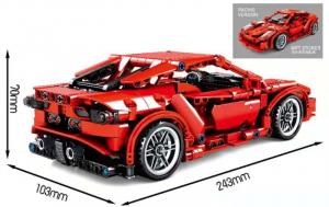 Rennwagen in red