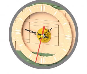 Bonsai im Blumentopf inkl. Uhr