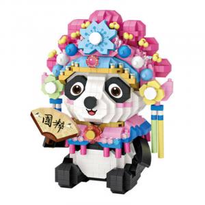 Huadan Panda (diamond blocks)