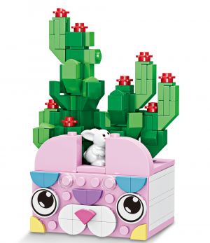 Cactus in a Bunny Pot