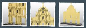 Ruins of St. Paul (diamond blocks)