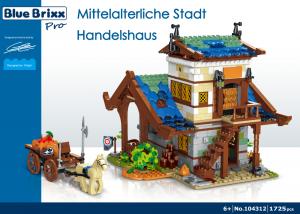 Mittelalterliche Stadt - Handelshaus