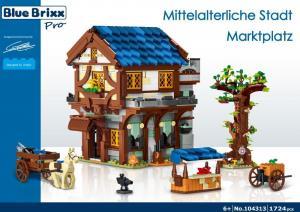 Mittelalterliche Stadt - Marktplatz