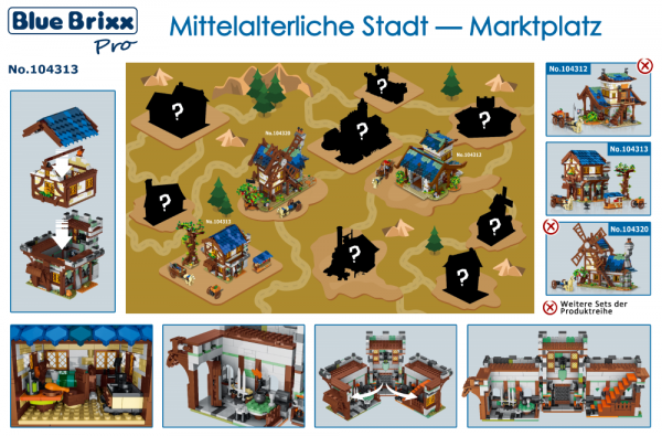 Medieval Town - Marketplace