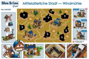 Mittelalterliche Stadt - Windmühle