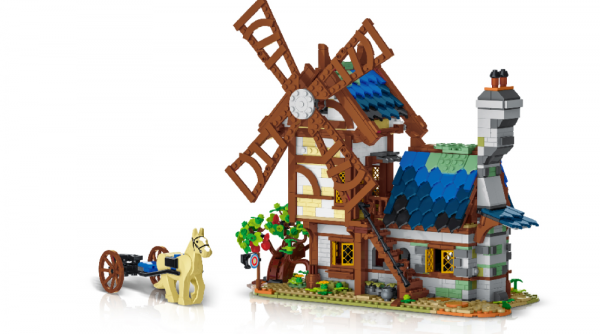 Medieval Town - Windmill