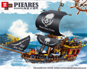 Pirate Ship from the Stormy Waves Series