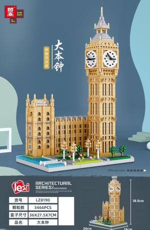 Big Ben (diamond blocks)