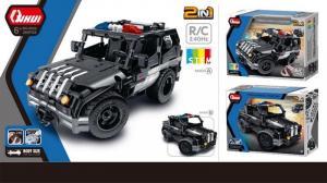 R/C Police Car 2 IN 1. 2.4G, 4CH, blue