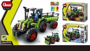 2 in 1 Farm Traktor & Schneepflug Truck