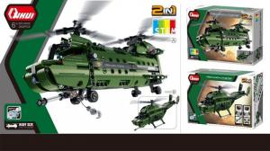 2 in 1 Military Helicopter