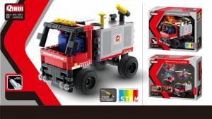 Mini-Feuerwehrwagen mit Wasserspritzen