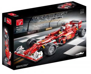 Formel Wagen in rot