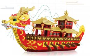 Dragon boat  (Diamond Blocks)