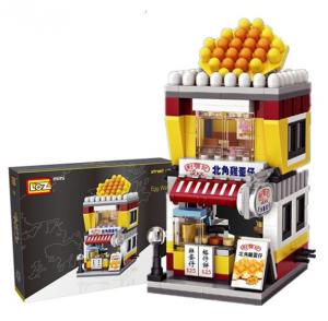 Waffel-Laden (mini blocks)