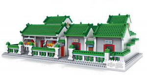 Man Mo Temple (diamond blocks)