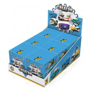 Creator Display Box - 6 gemischte Artikel (mini blocks)