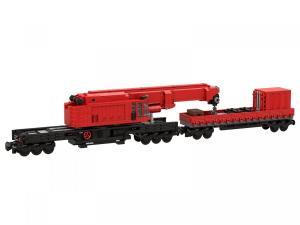 Notfall Schienendrehkran BR 733 (8w)