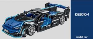 Sportwagen in blau/schwarz