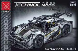 Sportwagen in grau