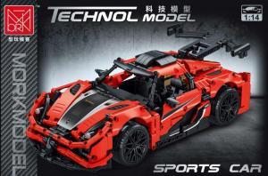 Sportwagen in rot