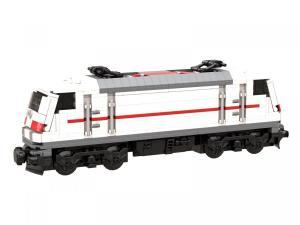 Lokomotive BR 146 weiß rot