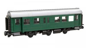 Umbauwagen 2te Klasse und Gepäckabteil (8w)