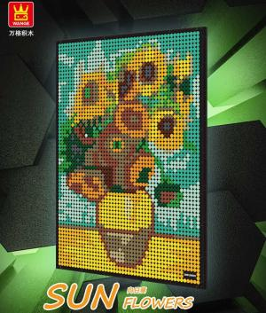 Painting: Sun Flower