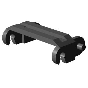 Panzerketten 2 breit, schwarz (100st.)