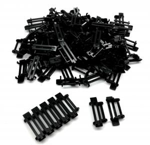 Track Link 3 wide (inner 2) Black (100pcs)