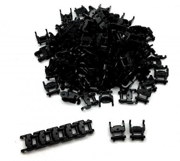 Panzerketten 1 breit , schwarz (100st.)