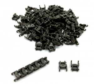 Track Link 1 wide, Gray (100pcs)