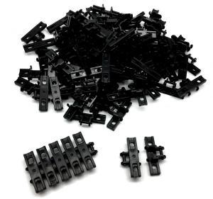 Panzerketten 5x1,5 breit , schwarz (100st.)