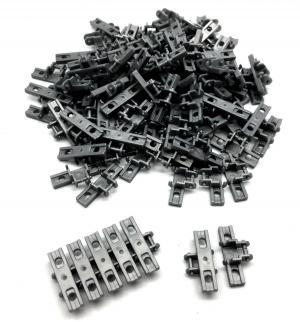 Panzerketten 5x1,5 breit , dunkelsilber (100st.)