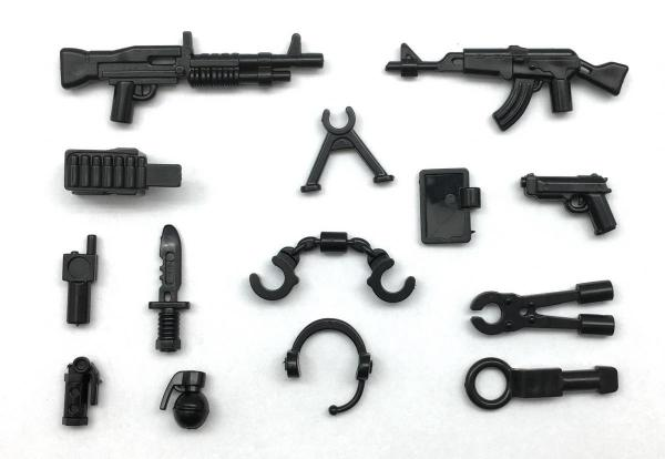 Universal Gun Set No.2, black