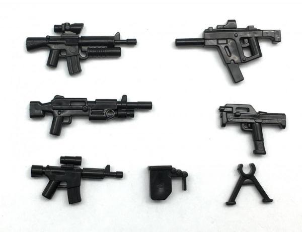 Modern American Gun Set No.1, black