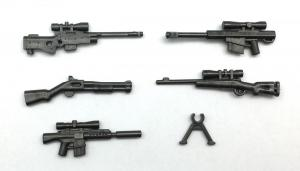 Modern American Gun Set No.2, Met.gray