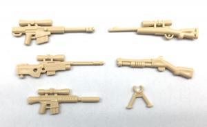 Modern American Gun Set No.2, Desert beige