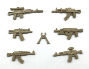 AK Gun Set No. 1, Brown