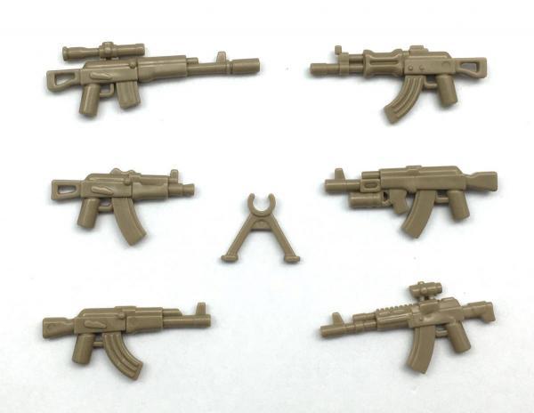 AK Gun Set No. 1, Brown