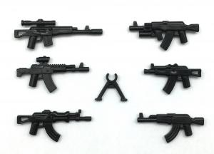 AK Gun Set No. 1, Black