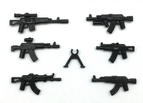 AK Gun Set No. 1, Black