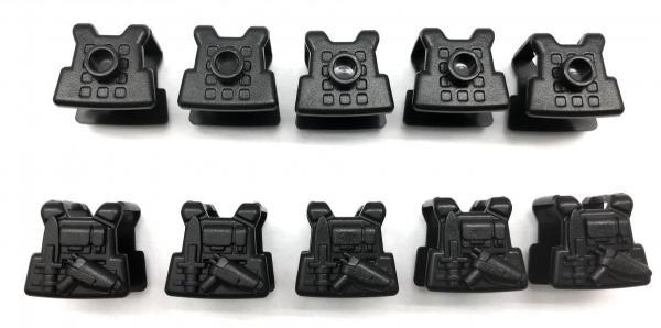 Modern Commander's vest, Version 1, black (10x)